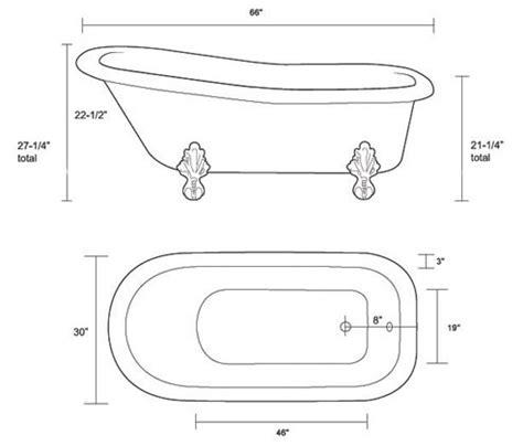 restoria imperial classic slipper clawfoot tub
