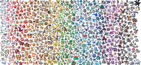 puzzle with every color jigsaw puzzles pokemon 20th mythicals and mega evolutions games zelda rocks