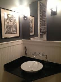 Wallpapered Bathrooms Ideas by Outstanding Powder Room Decoration And Bathroom Design