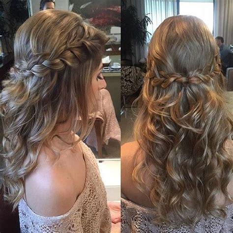 full crown hairstyles image result for bridesmaid hair braid long half beauty