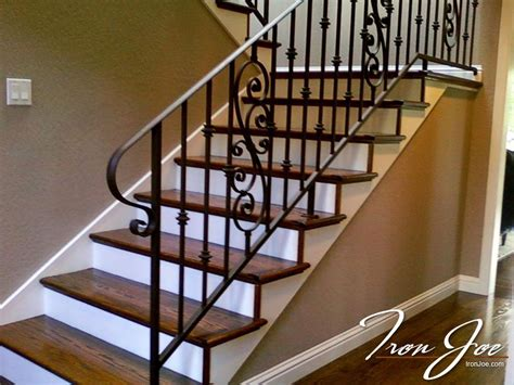 rod iron banister wrought iron railings san francisco bay area