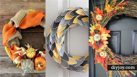 fall front door wreaths diy fall wreaths front door 13 diy fall wreaths for your