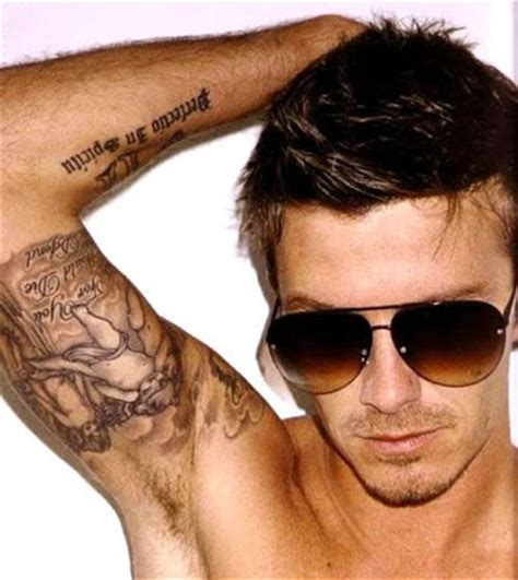 tattoo beckham love men tattoo ideas designs quotes on forearm tumblr words on