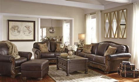 Walnut Living Room Furniture Sets Mellwood Walnut Living Room Set 6460538