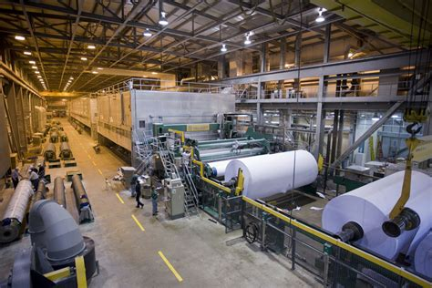 How To Make A Paper Mill - domtar spending 160m to convert paper machine at ark plant