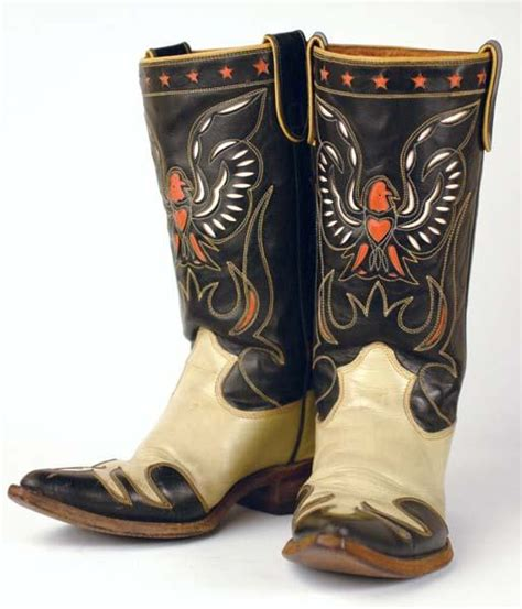 rogers boots 42 roy rogers eagle boots lot 42