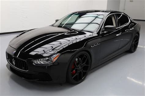 slammed maserati ghibli used maseratis for sale buy free delivery vroom
