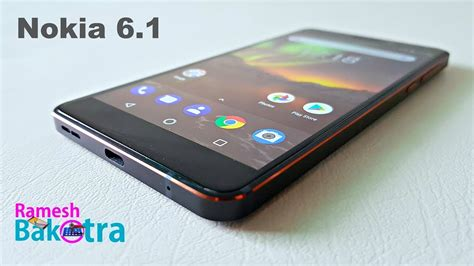 nokia 6 1 2018 unboxing and review