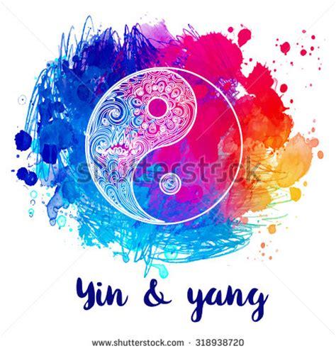 colorful yin yang yin yang stock images royalty free images vectors