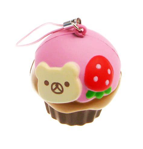 Squishy Rillakuma Cake rilakkuma cupcake squishy charm 163 2 99 buy at something