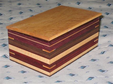 laminated wood box playing around by coloradoclimber lumberjocks com woodworking community