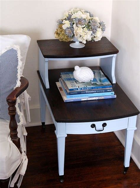 refinish furniture ideas 25 best ideas about refinished end tables on pinterest