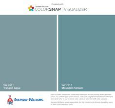 sherwin williams tranquil aqua iphone and colors on