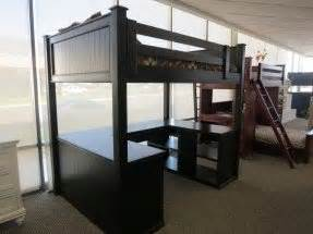 size loft bed with desk for adults size bunk bed with desk foter