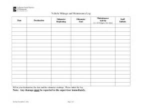 vehicle maintenance sheet template 5 best images of printable vehicle maintenance logs sheets