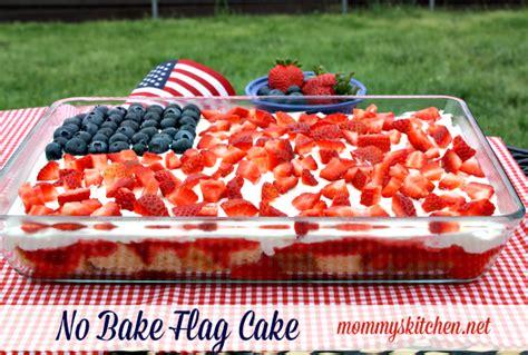 mommy s kitchen recipes from my texas kitchen no bake flag cake patriotic pretzel rods