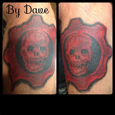 gears of war tattoo designs gears of war tattoos