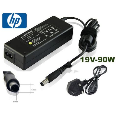 Charger Hp 4 for hp bullet charger 19v 4 74a 90w laptop ac adapter ppp012l s 393954 001 uk