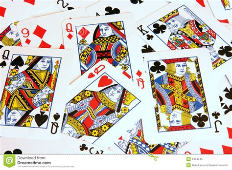 Gift Card Image - playing cards stock photo image of color gamble front 8474744