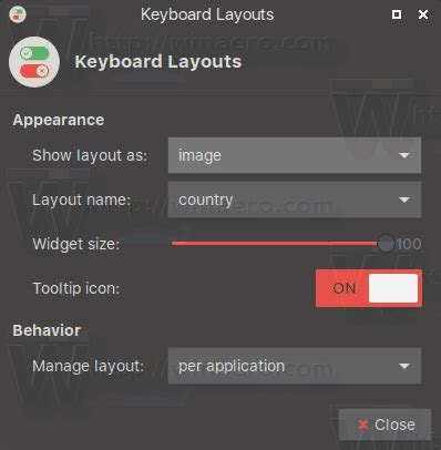 keyboard layout xfce set custom flags for xfce4 keyboard layout plugin