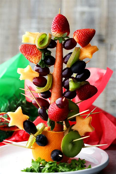 how to make christmas fruits fruit tree diethood