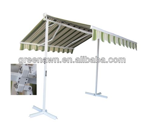 aluminum awning parts strong structure aluminum retractable awning arms folding