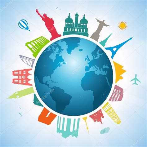 Traveling Around The World traveling around the world stock vector 169 giorgos245