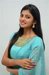 Anandhi Blue Churidar Tamil Screens Network