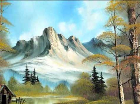 bob ross painting montage bob ross beautiful nature painting