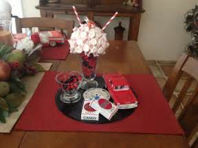 1950 s centerpiece created by my mom great aunt s party pinterest