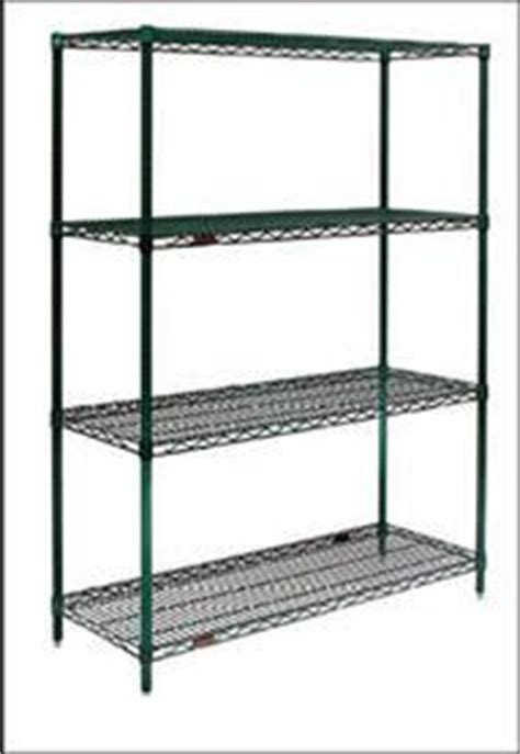 74 quot h stationary four shelf wire rack 24 quot d x 72 quot w computer