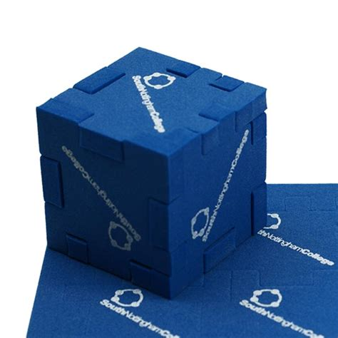 Gc Gc07 Black Blue foam cube puzzles promotional personalised branded