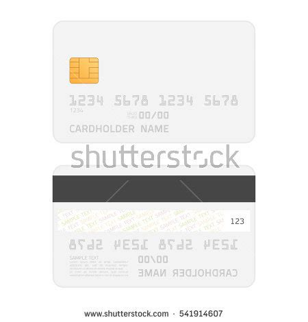 Sided Flash Card Template by Loading Bars Elements Set Creative Web Stock Vector