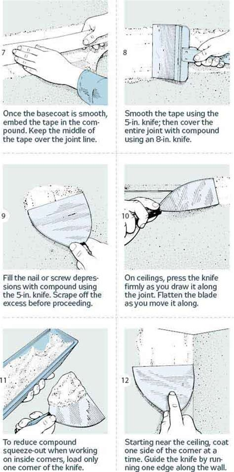 How To Finish Drywall How To Finish Drywall 18 Steps To Smooth Joints