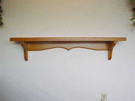 Wall Shelf Brackets Wood : Home Decorations   Wall Shelf