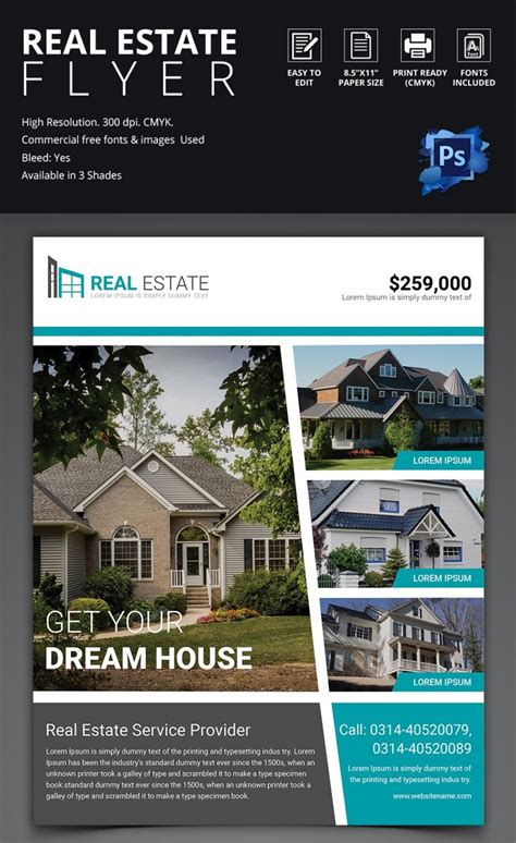 real estate brochure templates psd free download 41 psd real estate