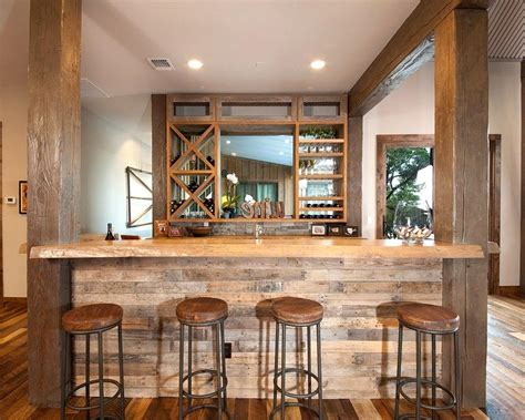 audacious basement bar reclaimed wood ideas basement bar