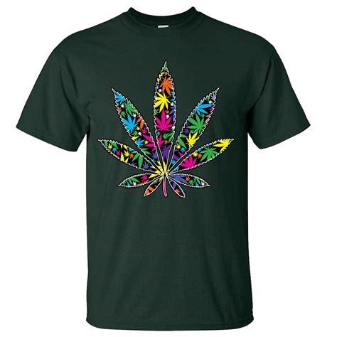 neon color shirts neon pot leaf asst colors t shirt ebay