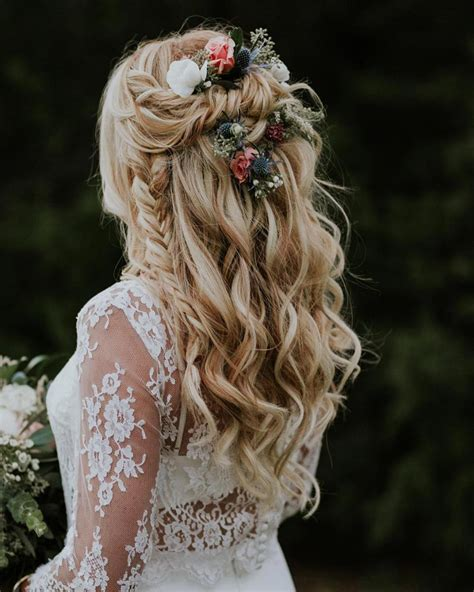 Wedding Hairstyles For Hair Boho by 28 Braided Wedding Hairstyles For Hair 183 Ruffled
