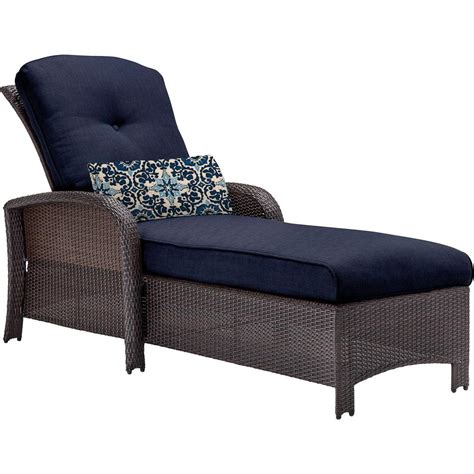 Outdoor Chaise Lounges Patio Chairs The Home Depot Outdoor Chaise Lounge Sofa