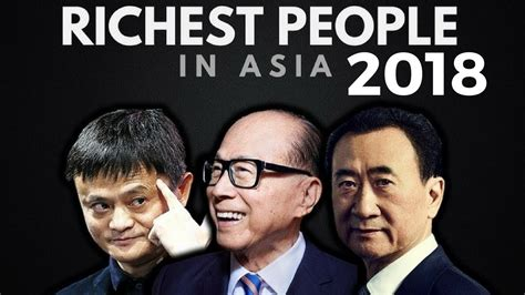 top 10 richest in asia 2018 forbes