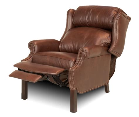 leather wing back recliner wingback leather recliner leather creations furniture