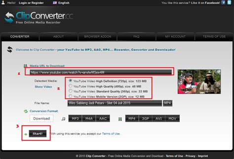 cara upload video di youtube kualitas hd cara mudah download video di youtube lewat clipconverter