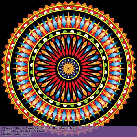 mandala collection volume 1 simple symmetry vol 1 mandalas more colored sles yet another mom blog