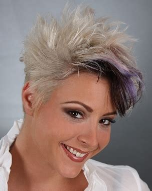 can you get your hair colored while spiky hairstyles for