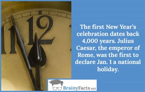 interesting facts about new year celebration new year facts did you