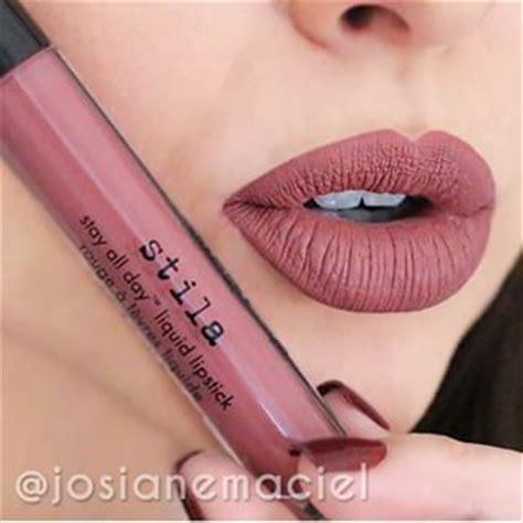 Lipstik Stila liquid lipstick patinas and lipsticks on