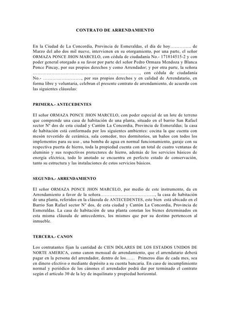 contrato de arrendamiento mexico formato de contrato de arrendamiento tattoo design bild