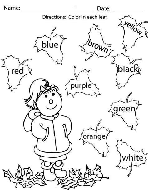 autumn coloring pages for kindergarten 672 best fall leaves theme images on pinterest autumn