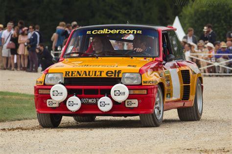 renault turbo rally renault 5 turbo rally